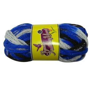Charmkey Fishnet Metallic Yarn